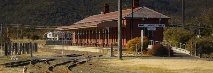 wallangarra train station