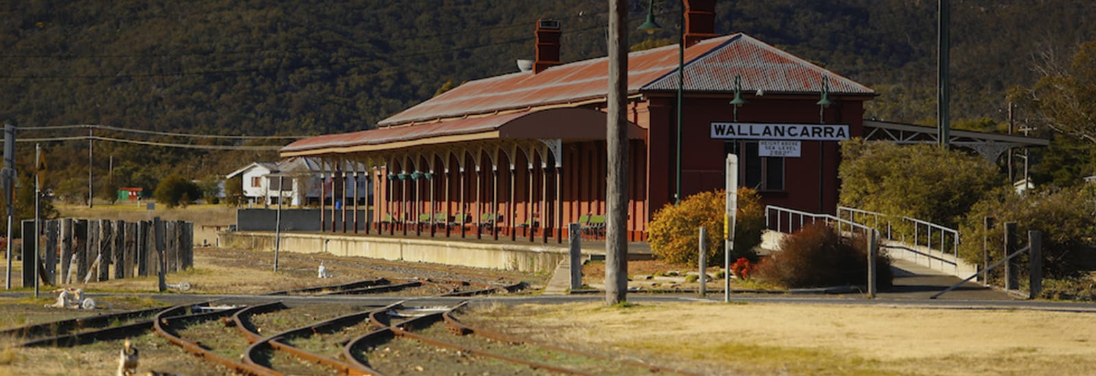 wallangarra train station
