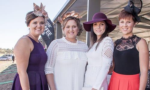 Ladies at Warwick Picnic Races