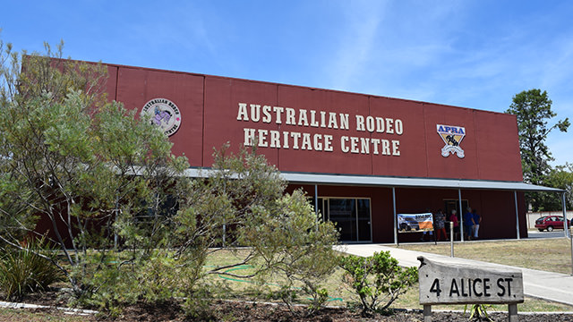 Australian Rodeo Heritage Centre building