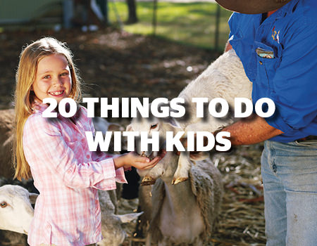 20 THINGS TO DO WITH KIDS
