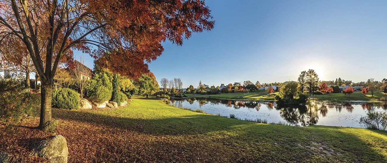 Quart Pot Creek at Stanthorpe in Autumn colours