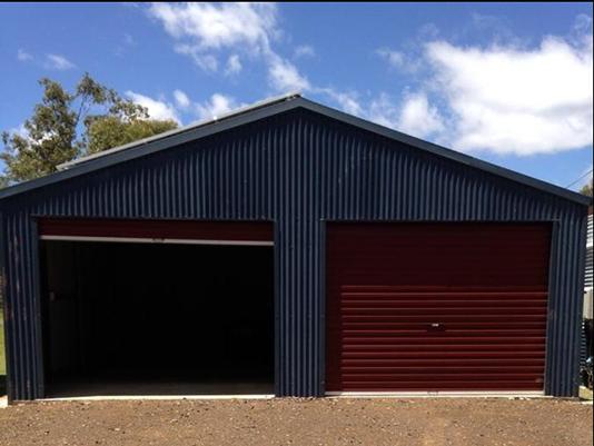 Lock up garage at Morgan Park - Horsepower Hilton