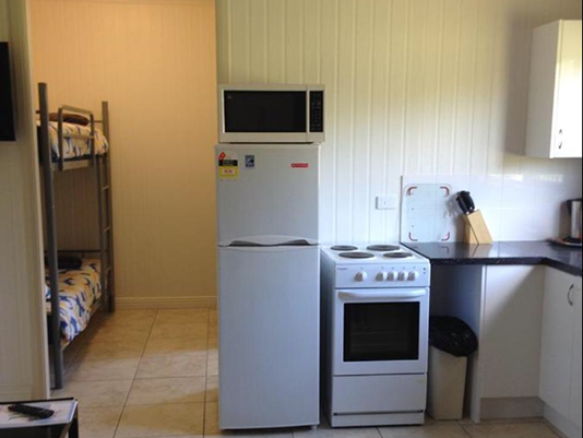 Kitchen at Morgan Park - Horsepower Hilton