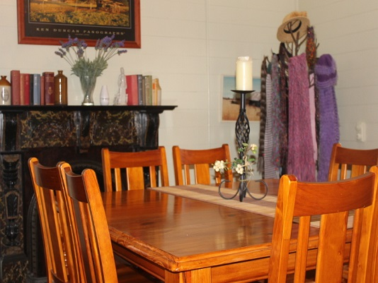 Dining room at Connor House Self Contained Accommodation, Stanthorpe