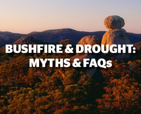 BUSHFIRE & DROUGHT: MYTHS & FAQs