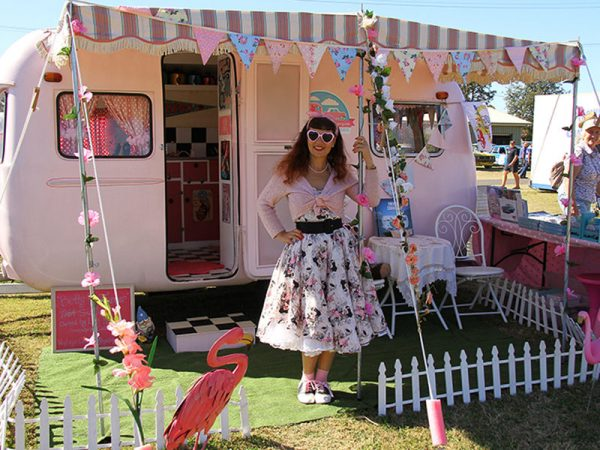 Vintage Caravan Competition at Historic Leyburn Sprints