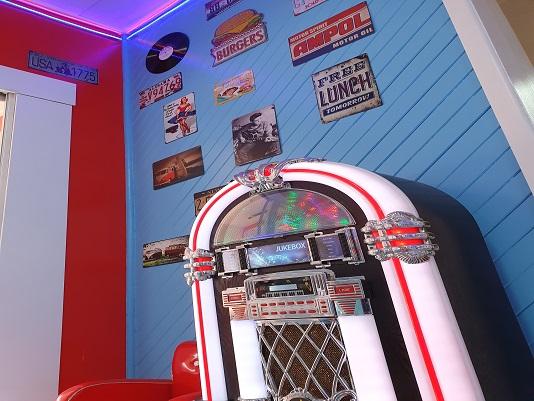 Juke Box at Blue Topaz Caravan Park