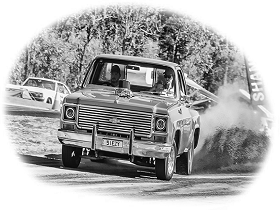 Car at Moonshine Run, Cottonvale